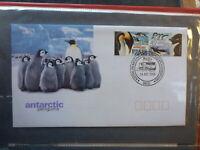 AUSTRALIA 2000 AAT ANTARCTIC PENGUINS SET 2 STAMPS FIRST DAY COVER DAVIS