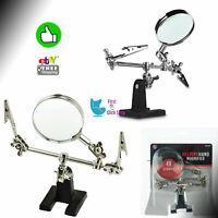 Helping Hand Magnifying Glass Holder Clamp Clips Stand Jewelry Tool & Handstool