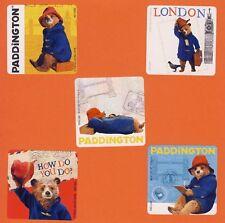 10 Paddington Bear - Large Stickers - Party Favors - Rewards