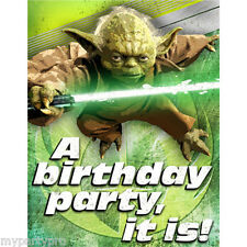 Star Wars Generations Party Invitations Birthday Party Supplies free shipping