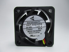 MITSUBISH NC5332H71 MMF-04C24DS-MCA Inverter cooling fan 24V 0.09A 40*40*15 3pin
