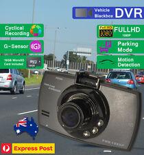 Dash cam 1080P DUAL DVR camera video incar recorder reversing rear-view Full HD