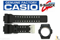 Casio G-Shock Genuine Factory Black Rubber Band & Bezel Combo fits GA-300-1A