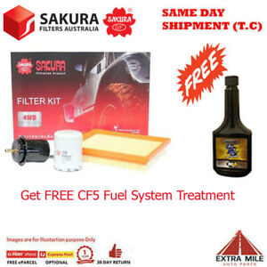 Sakura 4WD Filter Kit For FORD COURIER PD G6E cyl4 2.6L Petrol 1996-1999