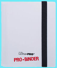 ULTRA PRO 2 POCKET PRO-BINDER WHITE 20 Pages 80 Card Album Magic MTG Pokemon