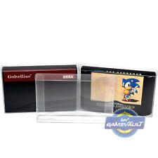10 X Sega Mega Drive & Master System Carro protectores de cartucho de juego fuerte 0.4 mm