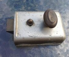 Yale Door Lock Latch Nightlatch No Key Or Cylinder Fits Inside Face Of Door Shed
