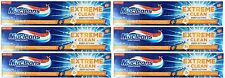 6 x MACLEANS 170g TOOTHPASTE EXTREME CLEAN DEEP ACTION 100% Brand New