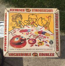 Mattel Vintage INCREDIBLE EDIBLES Food Creation 1966