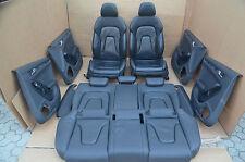 Audi A4 8K Avant Lederausstattung Leder Sitzausstattung Schwarz Elektrisch