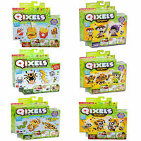 New Qixels Theme 500 Cubes Refill - 4 Design Templates, Instruction Booklet