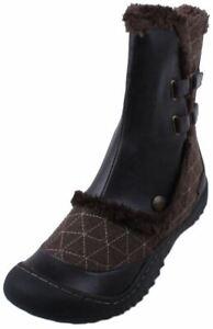JBU by Jambu Iceburg Women's Dark Brown Faux Fur Cold Weather Boots
