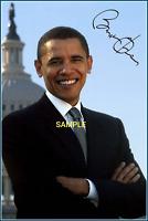4x6 SIGNED AUTOGRAPH PHOTO REPRINT President BARACK OBAMA #TP