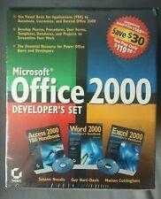 Microsoft Office 2000 Developer's Set Sybex Access, Word, Excel 2000 + Cd's