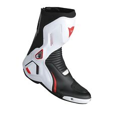 Dainese Course D1 Out Stiefel schwarz/weiß/rot-lava  Gr. 43 Motorrad Racing