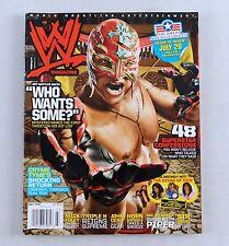 Rey Mysterio Jr July 2008 Foley HHH Lucha libre Magazine Raw WWE WWF