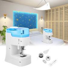 Eléctrica Mini Máquina de Coser Casa DIY Costura Doble Hilos Control de Puntada