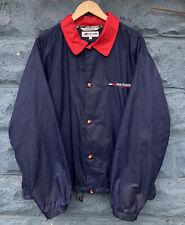 Vintage Tommy Hilfiger Athletics Navy Blue Coach Jacket Men's Size Large