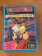 Intellivision Donkey Kong PAL Boxed With Instructions Gwo