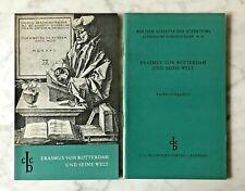 Erasmus von Rotterdam und seine Welt, Text & Vorbereitungsheft, hg.v. H. Martius