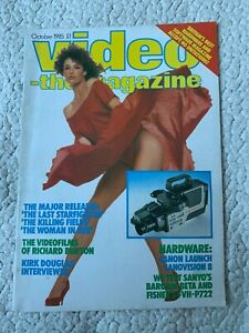 Video the Magazine October 1985 the Woman in Red Kelly LeBrock