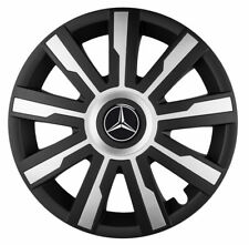 "4x16"" Wheel trims wheel covers fit Mercedes Vito 16"" silver / black"