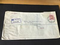 Auckland New Zealand 1953 large stamps cover Ref R28791
