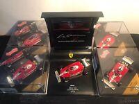 Quartzo Ferrari 312 T2 1977 & Ferrari 312 T3 1978 Carlos Reutemann 1/43