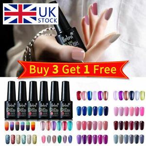 Belen 6PCS Colors Kit Gel Nail Polish UV LED Need Top Base Coat Varnish Lacquer