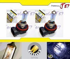 Flosser Silver Blue 5000K White H8 50W Light Two Bulbs DRL Daytime Run Cornering