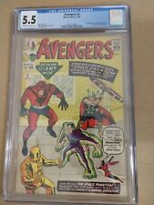the Avengers #2 CGC 5.5 off White to white