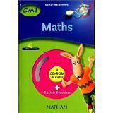 Collectif - Maths CM1, cahier d'exercices (1 CD-Rom inclus) - Broché