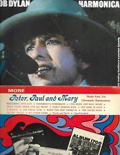 Bob Dylan + Peter Paul & Mary Songbooks Harmonica Lot of 2 Folk Folio Austin, Tx