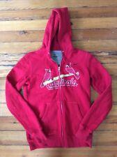 Nike St. Louis Cardinals Women's Zip-up Hoodie Sweatshirt - Sz M Medium