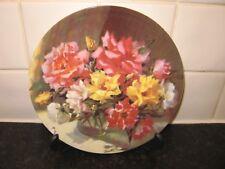 FLOWER PLATE  -  ROSE BLUSH     -  WEDGWOOD