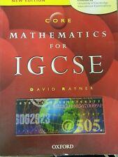 Core Mathematics for IGCSE (Paperback) by David Rayner 2005