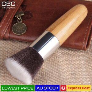 Flat Top Professional Kabuki Makeup Brush Cosmetic Brush Face Nose Foundation AU