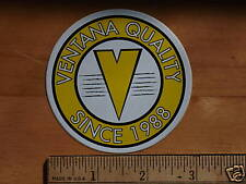 VENTANA A Road Mountain Bike Cycling Ride Sticker Decal