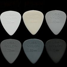 24 Dunlop Nylon Standard Guitar Picks Any Combination