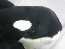 Big Seaworld Adventures Shamu Splash Show Adventure Killer Whale Orca Plush Soft