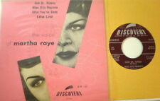 The Voice of Martha Raye Discovery EP