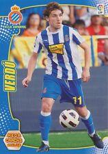N°084 JOAN VERDU FERNANDEZ # RCD.ESPANYOL CARD PANINI MEGA CRACKS LIGA 2012