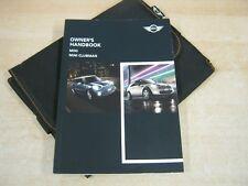 BMW MINI AND CLUBMAN  OWNERS MANUAL HANDBOOK  2010-2014 REFM9