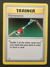 NEAR MINT! MAINTENANCE 83/102 SHADOWLESS BASE SET UNCOMMON POKEMON CARD