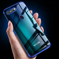 For Huawei Honor View 20 V20 8X 7S Plating Case Soft Silicom Bumper Back Cover