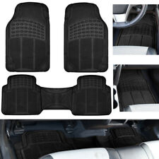 Car Floor Mats For Auto All Weather Rubber Liners Heavy Duty Fit Black 3pc Pack Fits 2003 Honda Pilot
