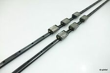 Thk Used Sr15w3uu1358l 2rail 6block Raydent Discolored Linear Bearing Lm Guide
