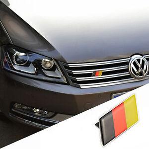 Car Germany German Flag Grille Grill Emblem Badge Decal Sticker For BMW