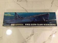 "REVELL 1/72  WW II U.S. NAVY GATO CLASS SUBMARINE 52"" LONG MODEL #  85-0384 F/S"