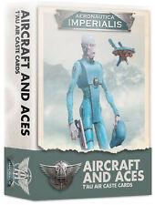 Aircraft & Aces Tau Air Caste Cards Aeronautica Imperialis Warhammer 40K
